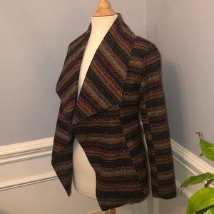 Aztec Wool Blend Coat
